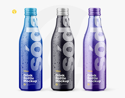 Drink Bottle Mockups