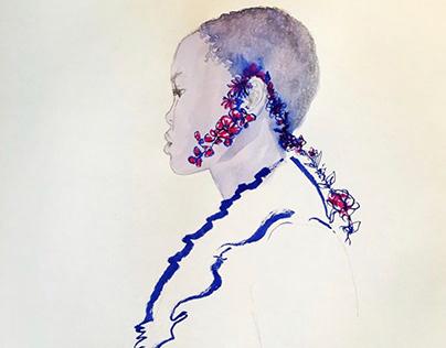 Ink Brush illustration