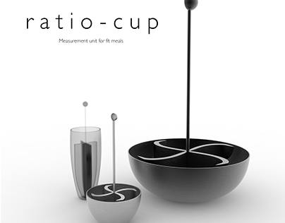 Ratio Cup - Measuring Unit for Fitmeals
