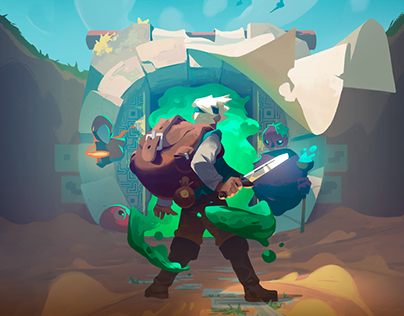 Moonlighter Illustrations