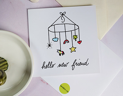 New Baby Cards - Baby Arrival Cards
