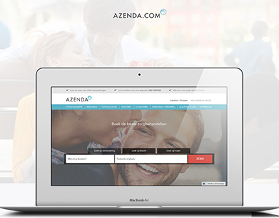 Azenda - booking website