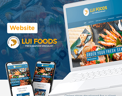 LuiFoods - Online Store + Marketing Campaign