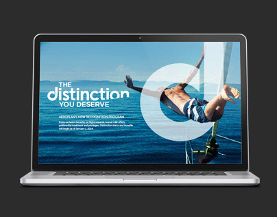 Aeroplan | site web distinction