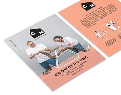 CrowdyHouse - Branding