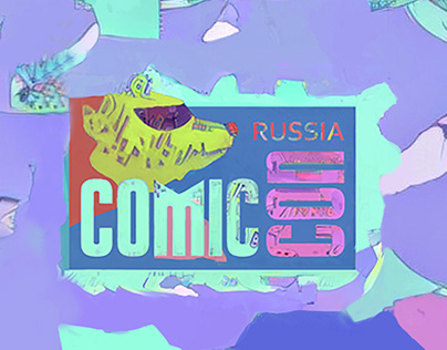 Comic con — visual identity