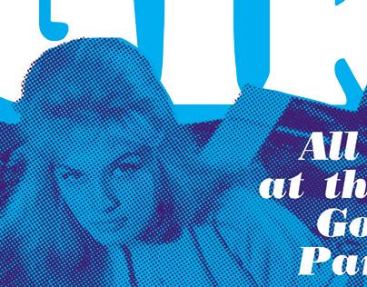 Flyer for Amsterdam Beatclub @DNA. Beat Girls