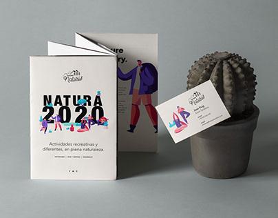 Diseño Tarjeta de Visita y Folleto