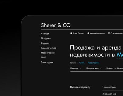 Sherer & Co // Real Estate Agency
