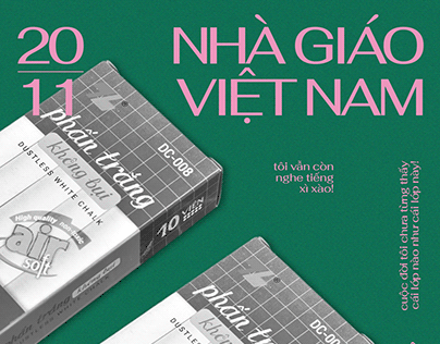 Vietnamese Teachers Day - Poster