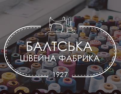 Logotype for Baltska sewing factory