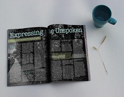 Digital Magazine Mockup - Photoshop
