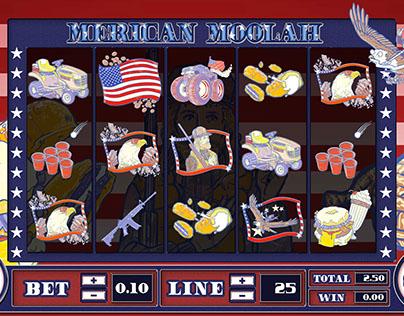 Merican Moolah Slot Machine