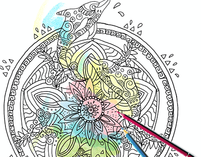 Coloring book project
