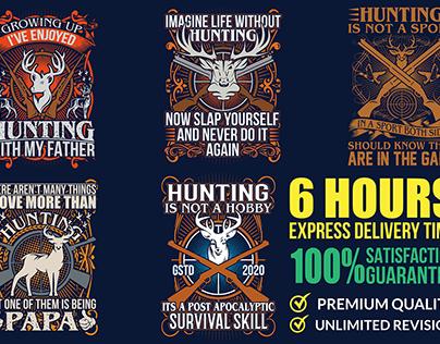 bulk hunting t-shirt design