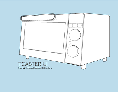 Toaster Oven User Interface →