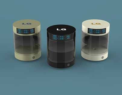 """""""LG Bliss"""" oven concept"""