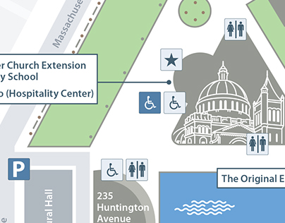 Christian Science Plaza map - Annual Meeting 2015