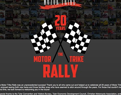 Event Branding: 20th Anniversary Rally