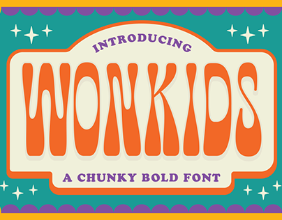 Wonkids - Psychedelic Font