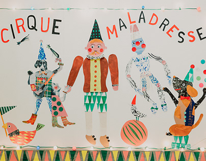 Cirque Maladresse avec Aude Marie et Bertrand Sallé