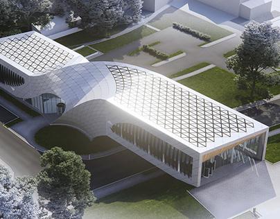 Smiltene library, Latvia