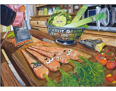 Hunllef Y Foronen / The Carrot's Nightmate