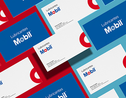 LUBRICANTES MOBIL - Brand Identity