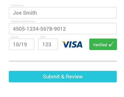 Daily UI 2 - Credit Card