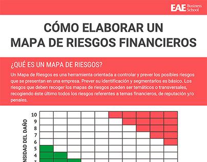 Cómo elaborar un mapa de riesgos financieros