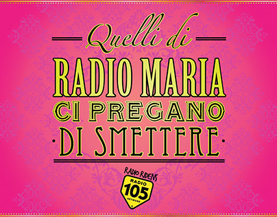 Radio 105 // Print