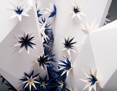 Paper sculpture \ Antalis storefront