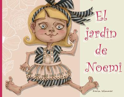 The garden Noemi....Children's book illustration