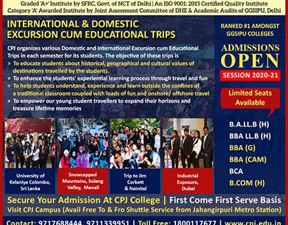 International Domestic Excursion Cum Educational Trips
