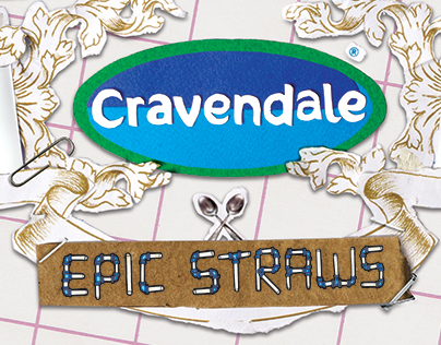 Design for Cravendale Epic Straws