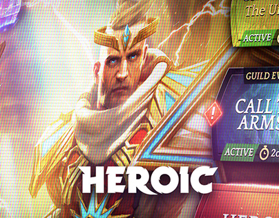 HEROIC: Magic Duel UI