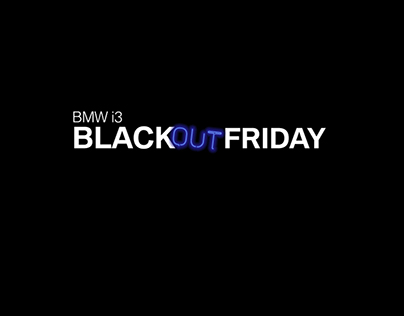 BMW i3 BLACKOUTFRIDAY
