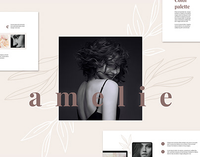 AMELIE Keynote Brand Guidelines