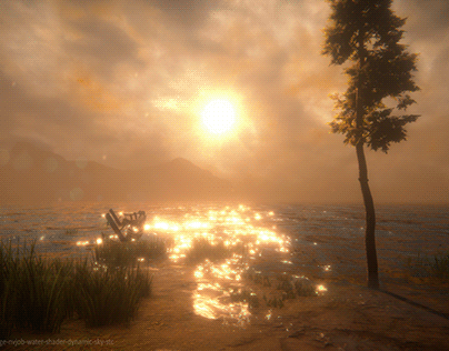 Unity Viking Village + #NVJOB Shaders