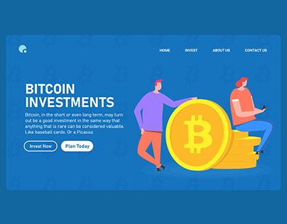 Bitcoin UI and illustration