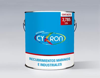 DISEÑO DE PACKAGING PARA PINTURAS CYKRON (2)