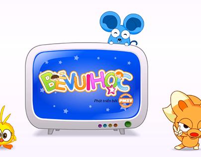 """Be Vui Hoc"" Logo intro animation"