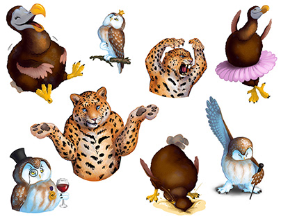 Wild Edens Project Promo Stickers