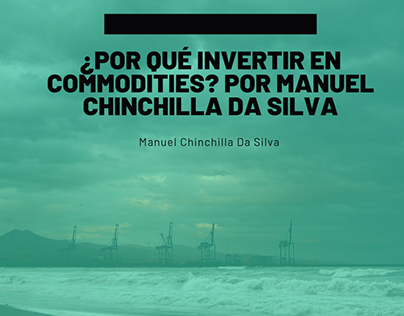 Search … Why invest in Commodities? Manuel Chinchillla