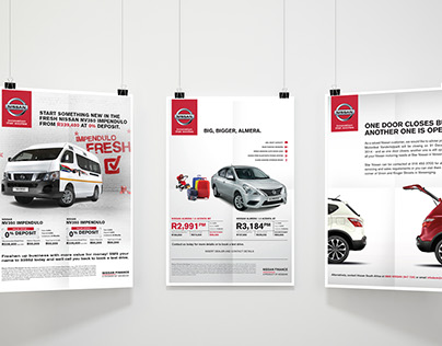 Nissan - Various Print Adverts