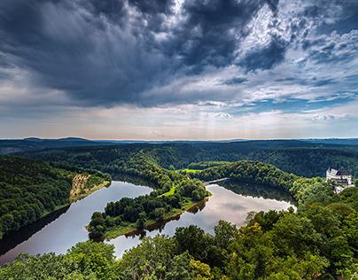 Saale River Valley