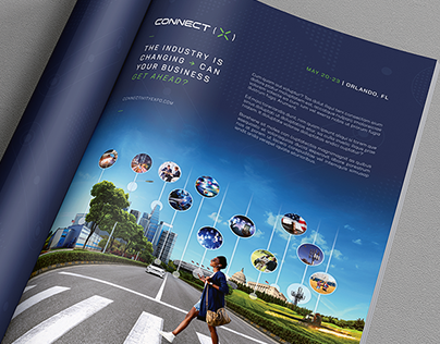 Connect (X) 2019 - Print Ad