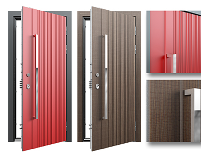 Steel door designs for Torex
