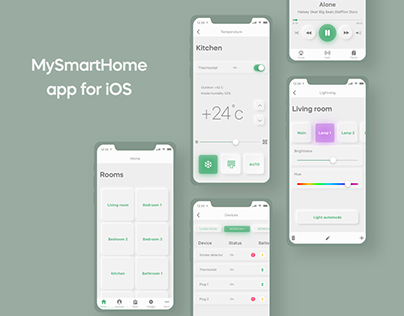 Smart Home mobile app for iOS