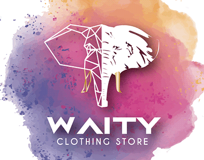 Waity clothing store -brand creation
